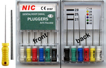 Niti Plugger, Pack of 6