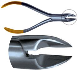 Pin and Ligature Cutter, 7° Angle, Carbide