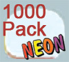 Ultimate Retainer Case, 1000 Pack, Neon Glow
