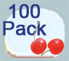 Ultimate Retainer Case, 100 Pack, Flavor